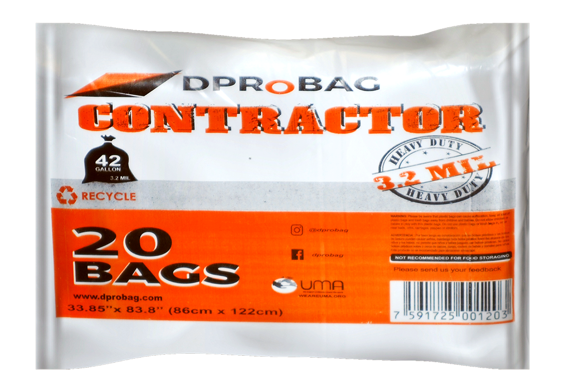 Contractor heavy duty bags